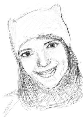 Схема как рисовать портрет